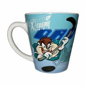 Vintage 2000 Looney Tunes Tas Devil Coffee Mug
